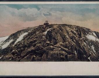 Antique Pikes Peak Colorado Postcard Unused Divided Back