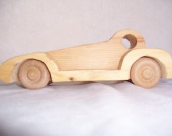 Toy Car Created for the Kids from Handcrafted Wood just for your Child