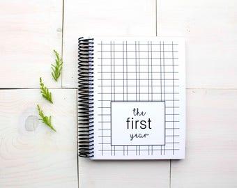 INSTANT DOWNLOAD - Modern Baby Book, Baby Memory Book, Baby Shower Gift, Baby Gift, Baby Shower, Baby Album, Keepsake Baby Book