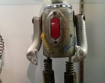 Plan 9 Robot by Outsider artist Kent Greenbaum Sci Fi Folk Art R25 BUBBA