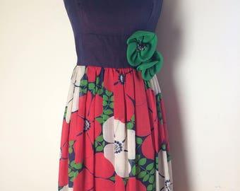 MISS ELLIETTE Vintage Floral Dress