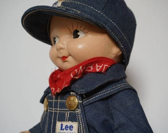 Buddy Lee Advertising Doll