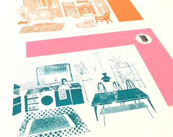 Risograph houseprint
