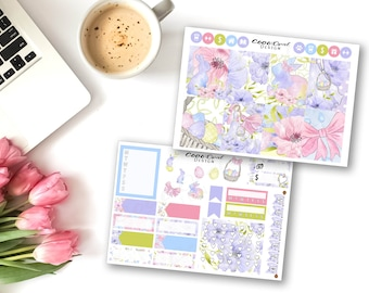 Easter Mini Weekly Kit for EC Vertical Life Planner 2018 Stickers ECLP Mini Planner Sticker Set