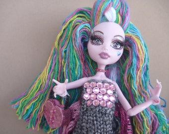 "Prism Darkside - OOAK 12"" Collectible Doll Monster High"