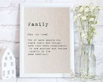 Family Quote, Family gift, Personalized Mother gifts, mothers day gift, Mothers day print, Gift for mother, Mothers day print, Gift for mom,