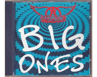 Aerosmith Big Ones Greatest Hits CD 1994 Club Edition