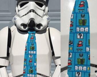 Mario Novelty Necktie - Nintendo Super Mario Tie