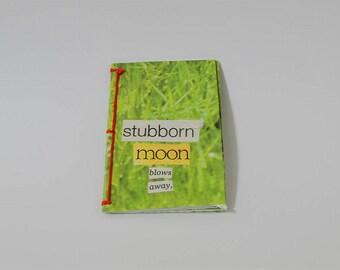 stubborn moon, poetry zine