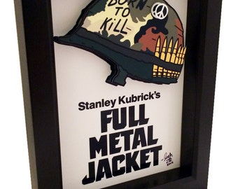 Full Metal Jacket Movie Art 3D Pop Artwork