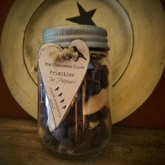 Prim Rose hip  Jar Potpourri ~ Amish Friendship Bread