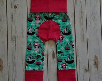 Maxaloones Grow With Me Pants Pirate Princess