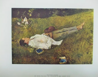 1962 Andrew Wyeth 'The Four Seasons', Complete Collection of 12, original folder, Art in America