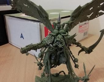 Warhammer 40k Mortarion, Daemon Primarch of Nurgle   Death Guard wargame
