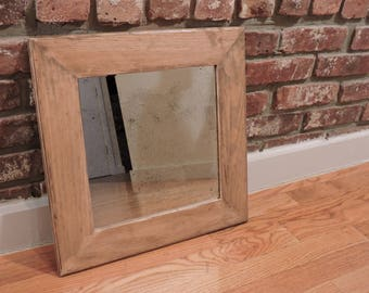 Vintage Wooden Mirror (3 colors available)