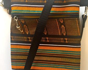African Crossbody Shoulder Bag Purse Tribal Ethnic Aztec small cross body bag/shoulder purse/cross body/crossbody bags