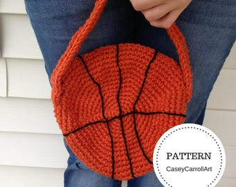Basketball Purse Pattern / PDF Download Only