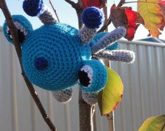 Crochet Dragonfly, Childrens Toy, Unique present, Gift, Colourful Dragonfly, Amigurumi Crochet Toy, Baby Soft Toy, Present for boy or girl