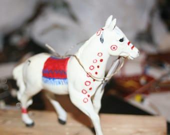hand painted pony