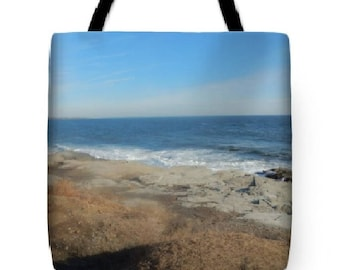 Custom designed tote bag, tote bag, beach bag, travel bag, shopping bag, market bag, Jamestown, RI Tote Bag