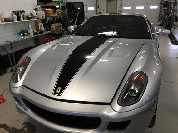 Ferrari 599 GTB Single Vinyl Stripe GTO Style