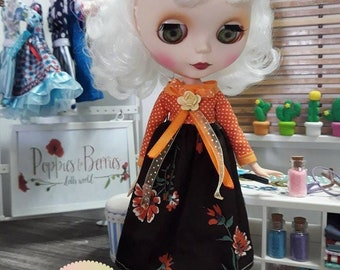 Orange Berry dress