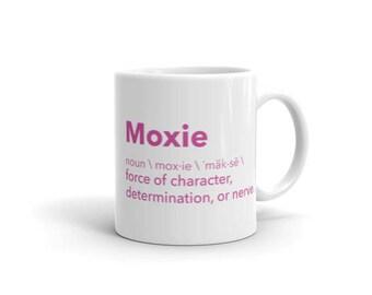 Moxie Definition Mug