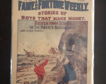 Rare Dime Novel Fame and Fortune Weekly 1920