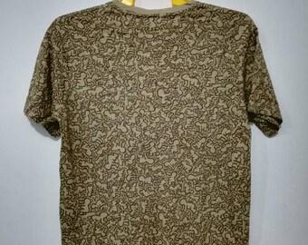 Rare Keith haring full print t-shirt M size