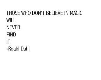 Roald Dahl Quote Digital Paper