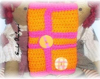 Crochet Armband cuff - Ready-to-Ship