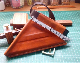 Builders Leather Speed Square sheath