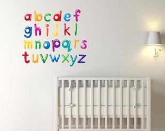 Alphabet Nursery Wall Stickers