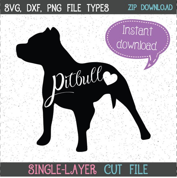 Download Pitbull SVG Pitbull Pitbull SVGs Pit SVGs Pits SVGs Dog
