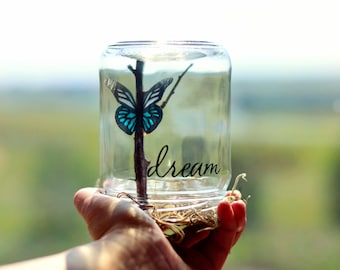 Dream | College graduation gift | Butterfly gift women | Spring gifts | Birthday gift for her | Positive inspiration | Gifts for teens