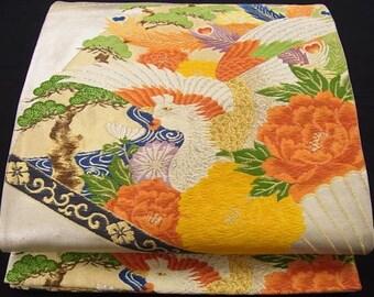 Japanese Antique obi sash