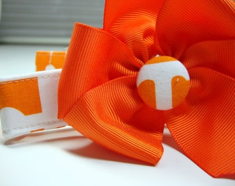 University of Tennessee Dog Collar Large