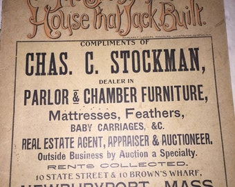 1894 Illustrated Advertising Booklet - The Story of the House That Jack Bult