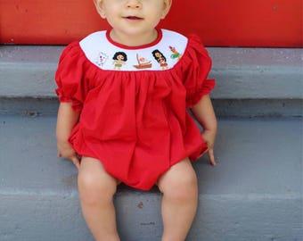 Moana Smock Bubble, summer, Hawaii, little girls, babies, Maui, Baby Bubble