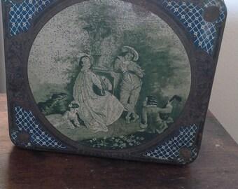 Vintage French Tin