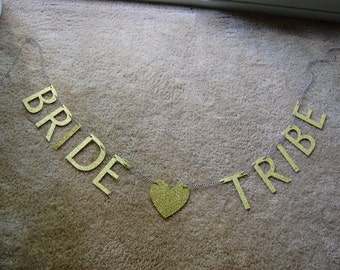Bride Tribe/Bachelorette Party/Bachelorette Banner/Wedding/Banners/Party/Whimsical