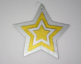 Sparkling Stars Window/Door Decoration