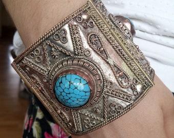 Victorian Cuff Bracelet 19th century ( Discount 20 % )
