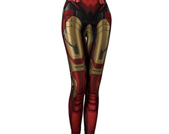 Iron Girl Leggings: Durable Stretch Womens tights, Womens Leggings, womens pants, Yoga Pants
