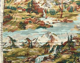 "Alpine Elevation Erin Michael moda fabrics 23"" length oop htf"