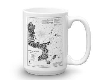 Rockport Harbor Ceramic Mug