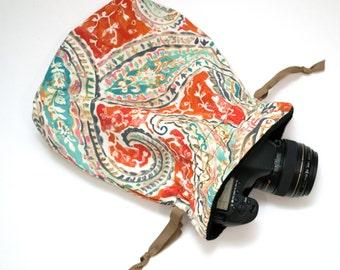 DSLR Camera Bag - Camera Bag for Women - Camera Accessories - Nikon Camera Bag - Camera Strap - Photographer Gift - Sassy Sack Eliza