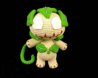 Vodoo doll crochet pattern / PDF EN