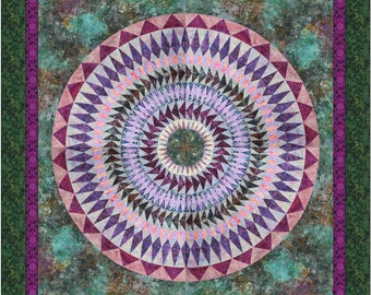 Mandala Quilt Pattern- New York Beauty Mandala A
