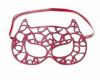 CLEARANCE GATA latex masquerade cat mask